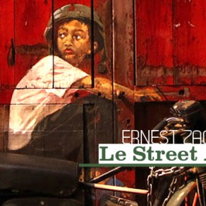 Ernest Zacharevic in situ graffiti paint street art