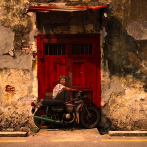 peinture interactive Ernest Zacharevic moto in situ