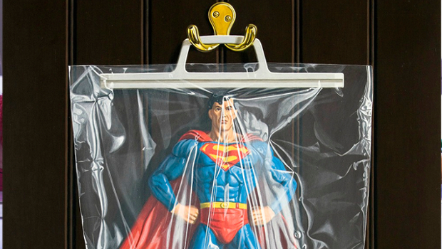 superman simon monk plastique comics marvel dc peinture