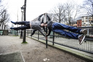 Street workout quai de Valmy Paris 10e