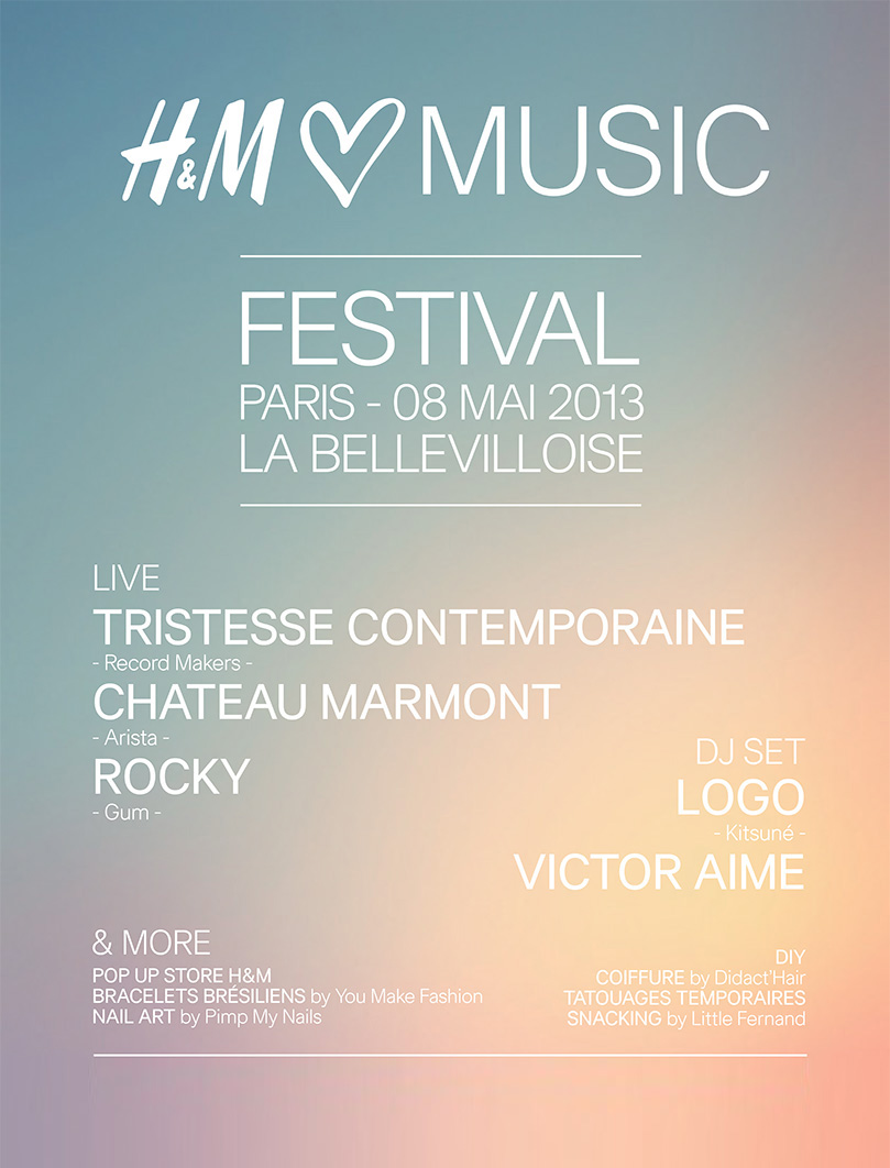 H&M Loves Music Festival